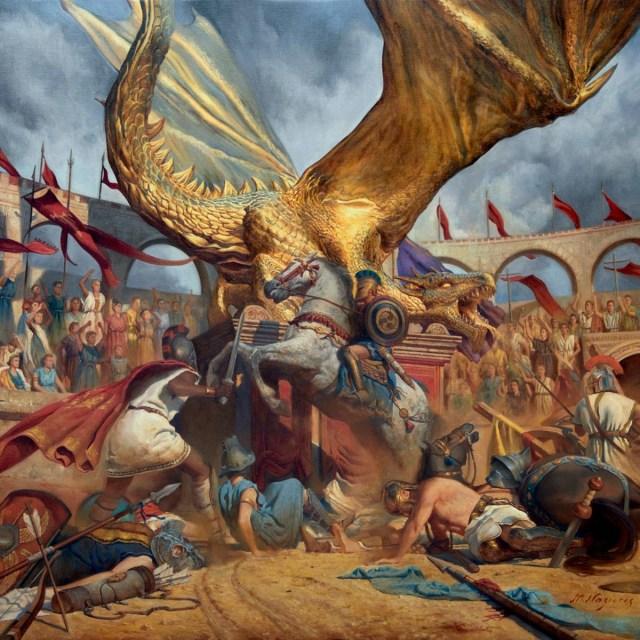 Trivium - In The Court Of The Dragon Album Cover Artwork
