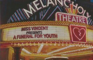 Miss Vincent - A Funeral For Youth Album Cover Artwork