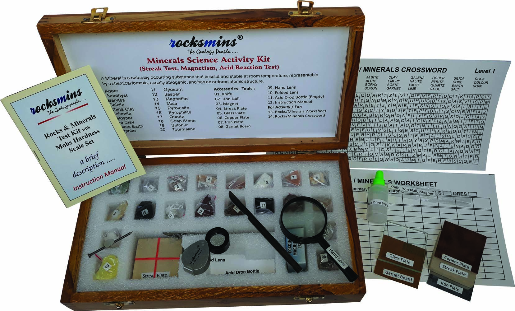Minerals Science Activity Kit