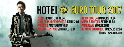 Hotei Euro Tour 2017