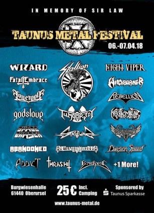Taunus Metal Festival #10 Flyer