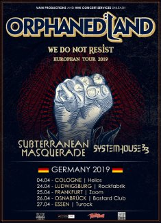 Orphaned Land Tour