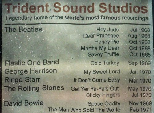 Trident Sound Studios