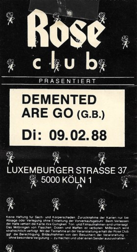 Demented Are Go 1988