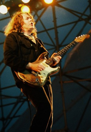 Rory Gallagher, Out In The Green Festival, Schaafheim, 1987