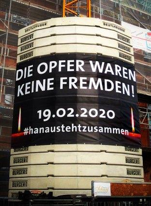 Gedenken an den Anschlag von Hanau