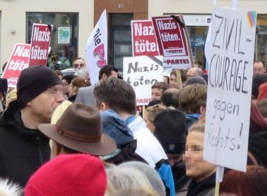 Demonstration Hanau