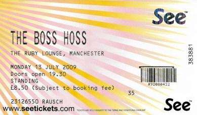 The Boss Hoss 2009