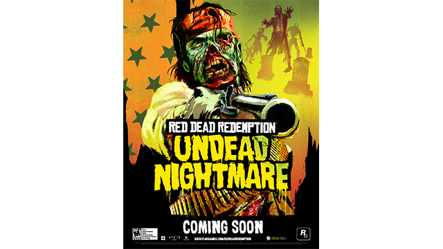 Rockstar Warehouse Update Official Red Dead Redemption Undead Nightmare Poster Now Available