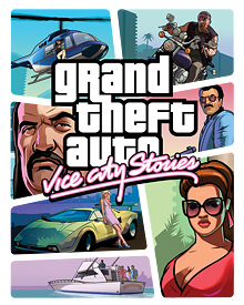 Jaquette GTA Vice City Stories
