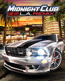 Jaquette Midnight Club L.A. Remix