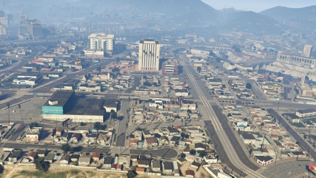 Mystère GTA V South Los Santos