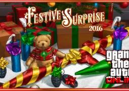 GTA Online – La Festive Surprise 2016 est là avec la neige !