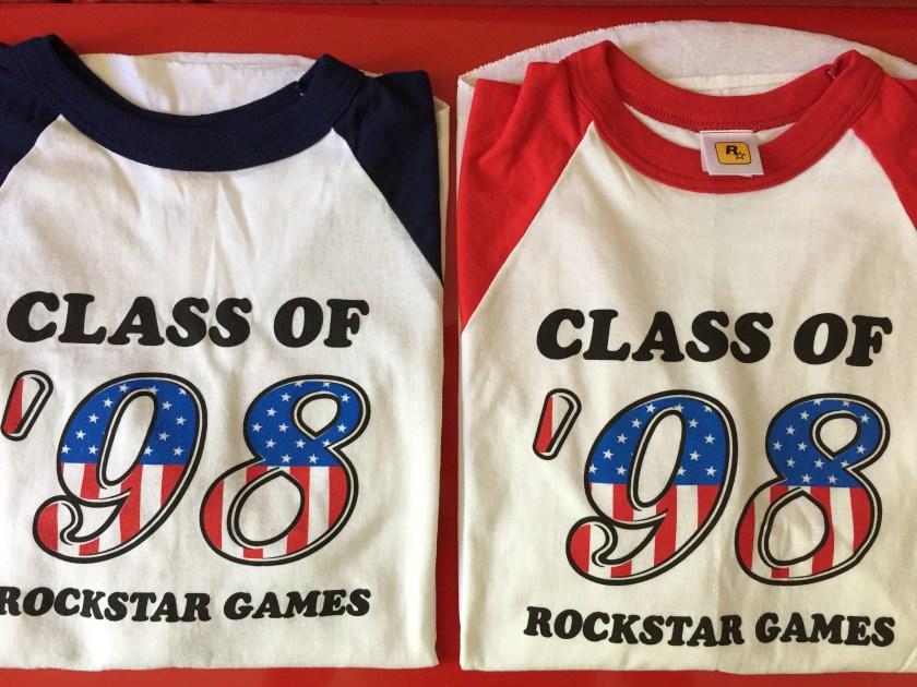 Rockstar Games - T-shirt Class of 98'