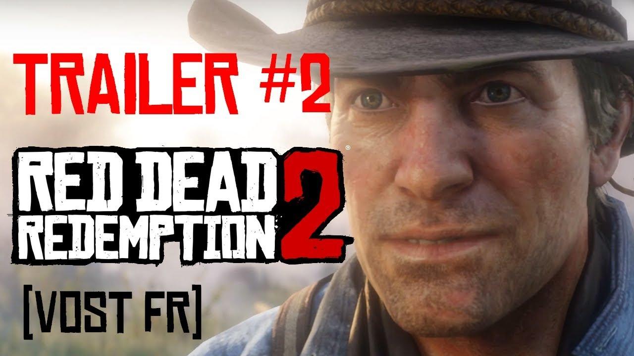 Découvrez le Second Trailer de Red Dead redemption II