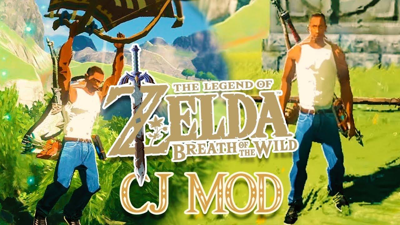 CJ s'invite dans Zelda Breath of the Wild