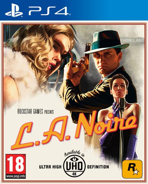 Jaquette PAL L.A. Noire PS4