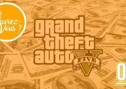 Le Saviez Vous 04 - GTA V jeu le plus vendu de l'histoire sur PC et consoles