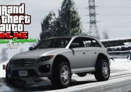 GTA Online – Arrivée de la Benefactor Streiter, de la neige et des cadeaux !