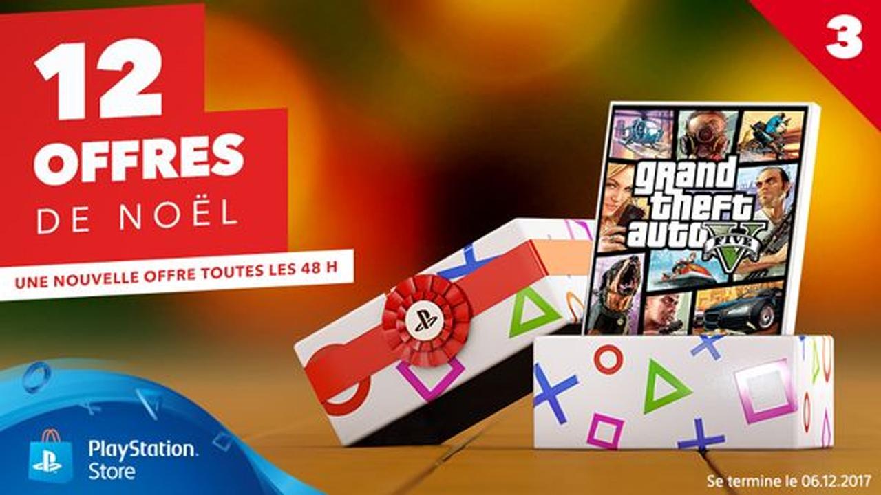 PlayStation Store Les Offres de NoËl Grand Theft Auto V - GTA V