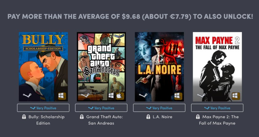 Humble Bundle Rockstar Games Pack 02
