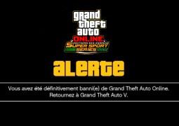 Des soucis de bannissements sur GTA Online depuis une semaine