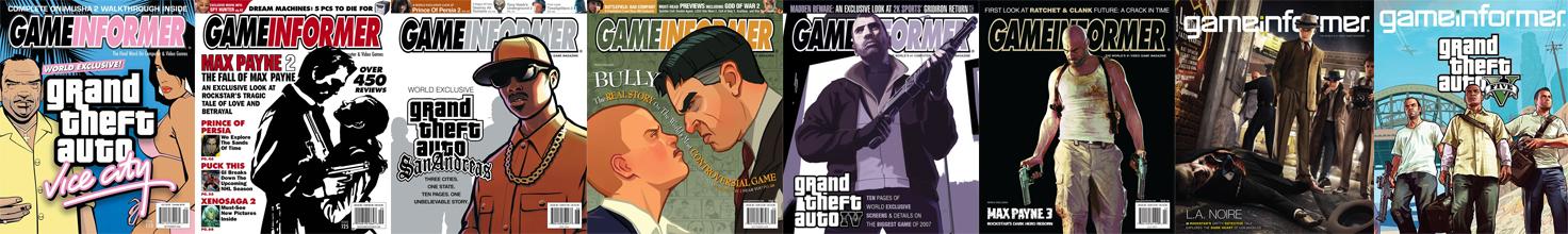 Game Informer Rockstar Games