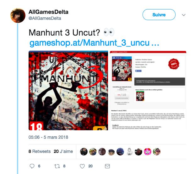 Tweet Fake Manhunt 3