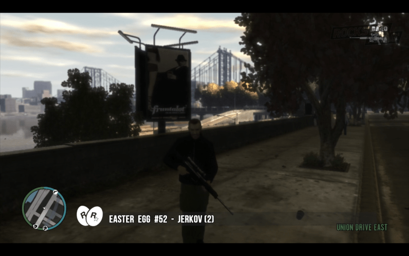 GTA IV - Easter Egg 51