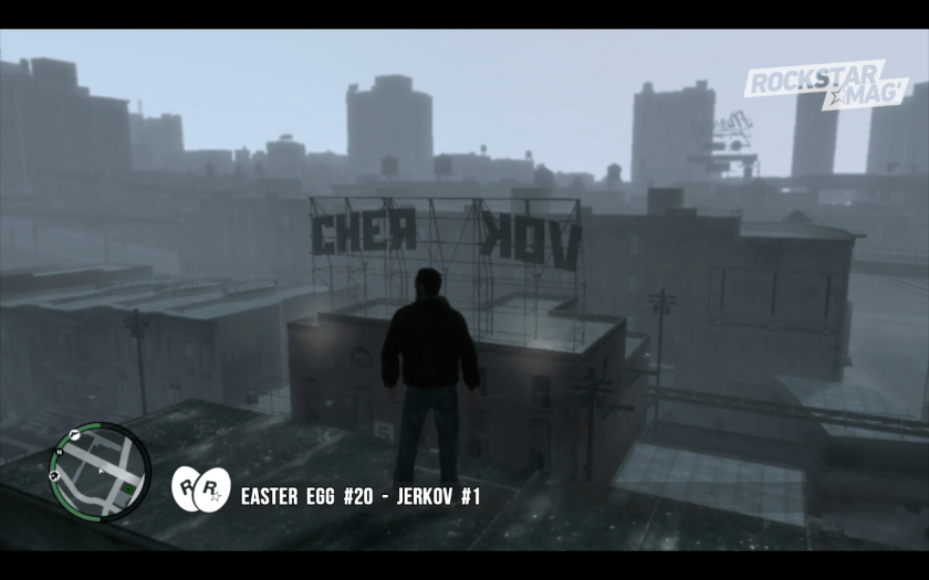 GTA IV - Easter Egg 20