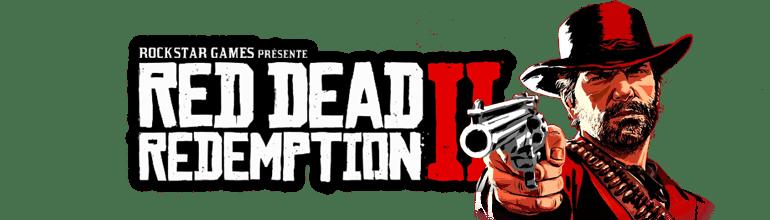 Logo Red Dead Redemption II avec Arthur Morgan