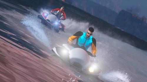 GTA Online Promotion Blazer Aqua