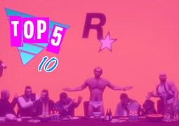 Top 5 by Rockstar Mag #10 – Les Meilleurs Jeux Rockstar Games