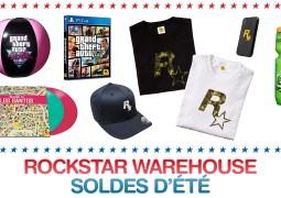 Les soldes d'été sont lancées sur le Rockstar Warehouse !
