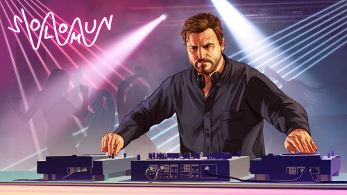 GTA Online Artwork Solomun