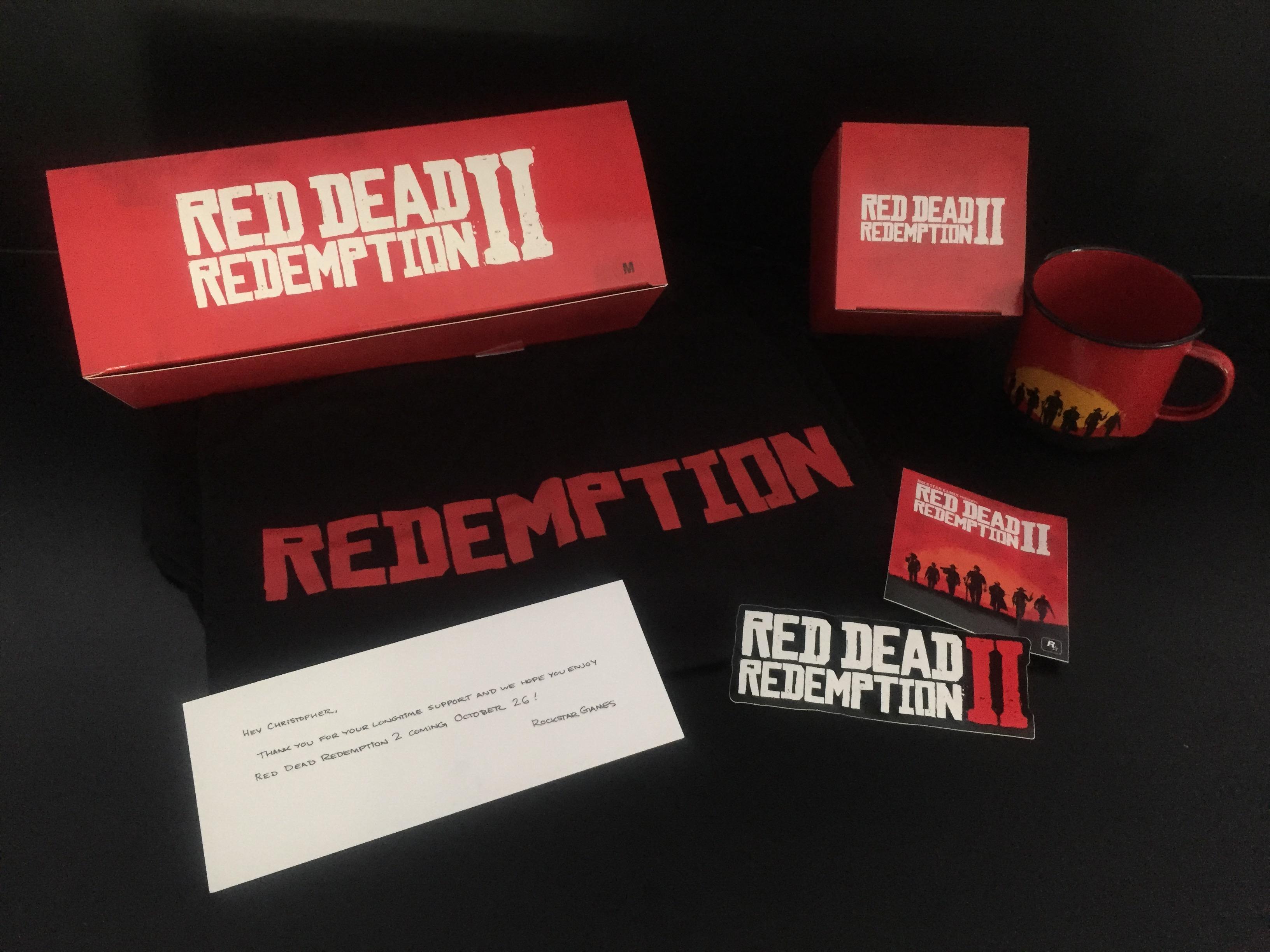 Colis Rockstar Games - Red Dead Redemption II - Contenu