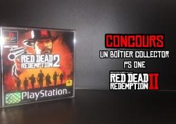Concours Boîte PS One de Red Dead Redemption 2