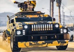 Le HVY MENACER Armé débarque sur GTA Online