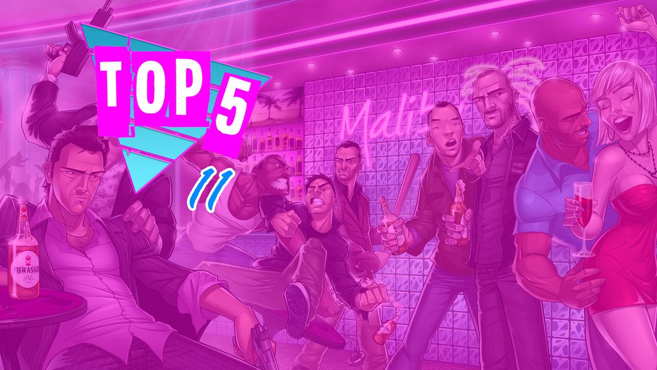 Top 5 by Rockstar Mag Meilleures Ventes Jeux Rockstar Games