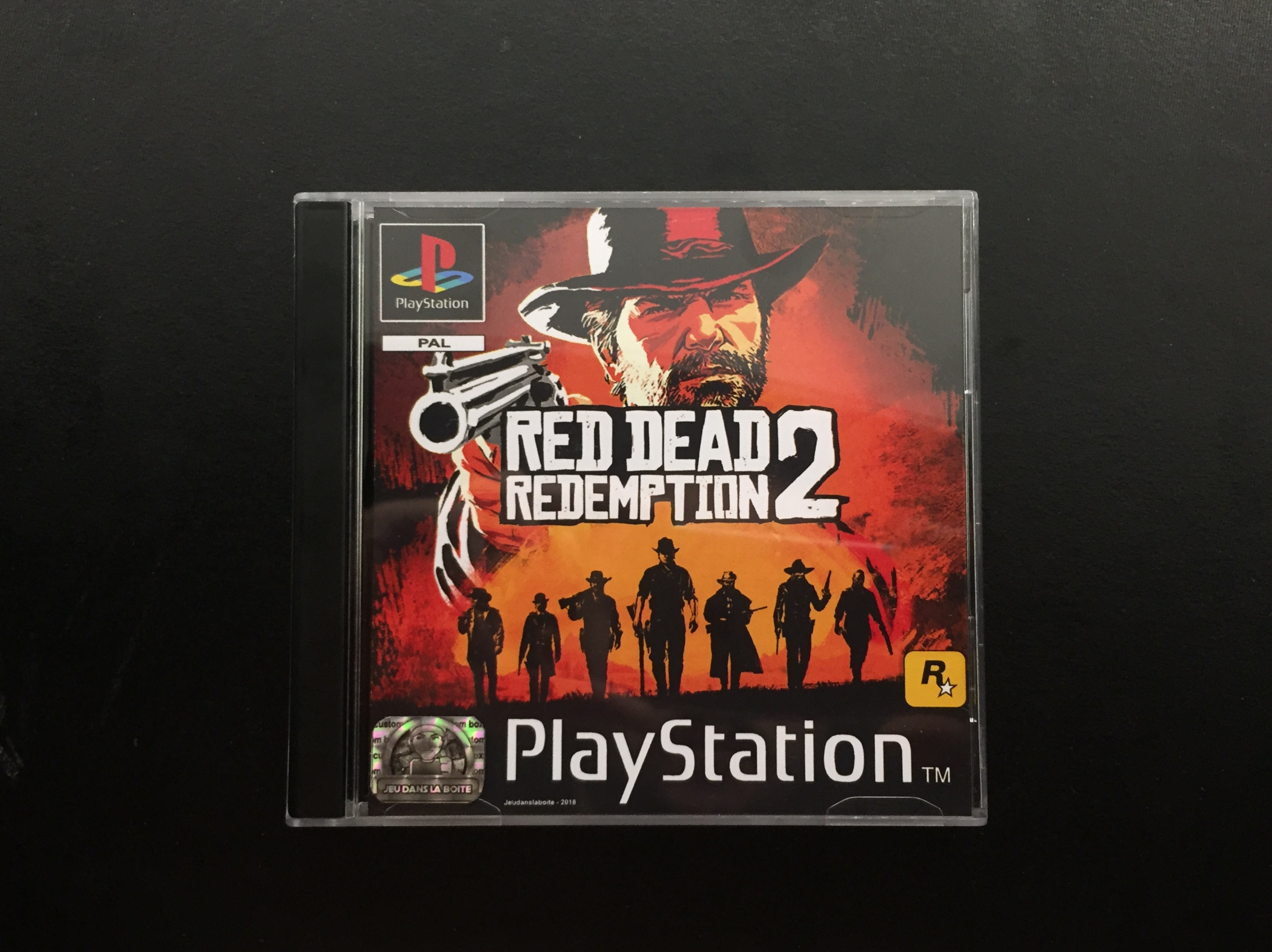 Red Dead Redemption 2 Cover Recto