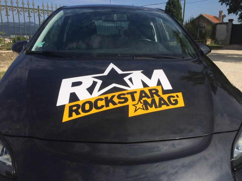 Voiture Tour de France #TousGamers Rockstar Mag