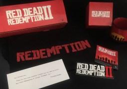 Unboxing : Le petit colis Red Dead Redemption II de Rockstar Games !