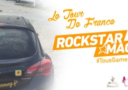 Découvrez la voiture du Tour de France #TousGamers Rockstar Mag' !