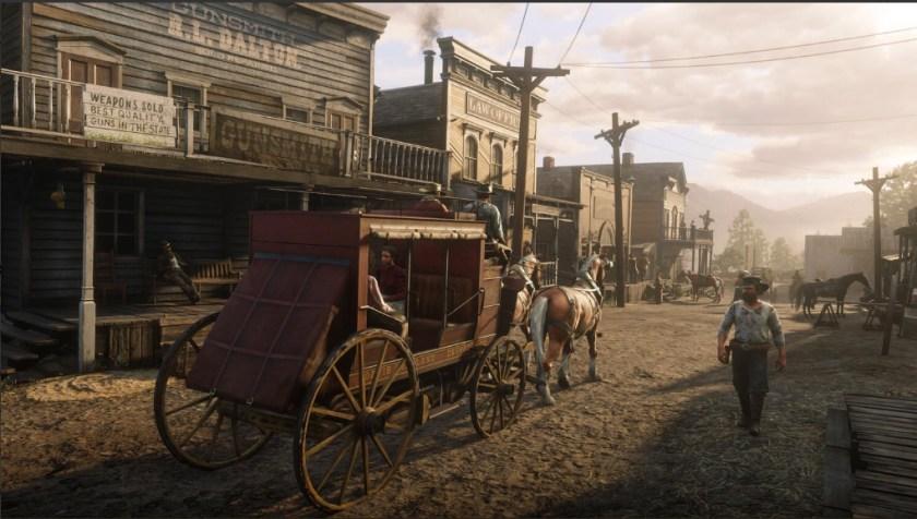 Nouvelles Images Red Dead Redemption II