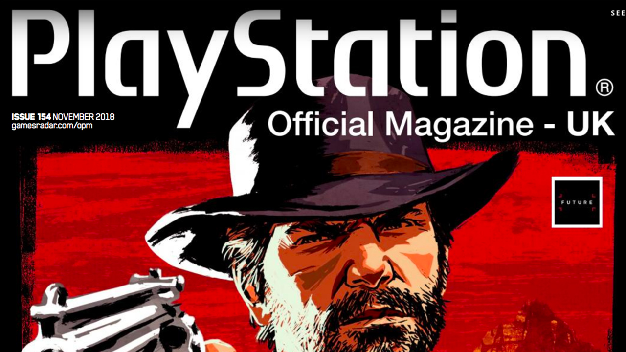 PlayStation Magazine UK Red Dead Redemption II Confirmé