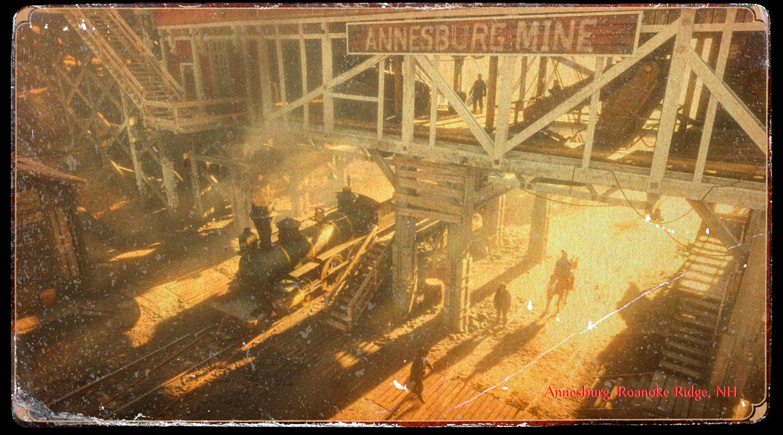 Red Dead Redemption II - Annesburg