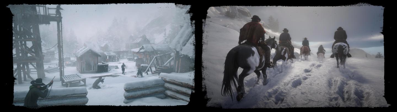 Red Dead Redemption II - Mont Hagen