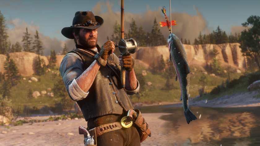 Red Dead Redemption II Peche