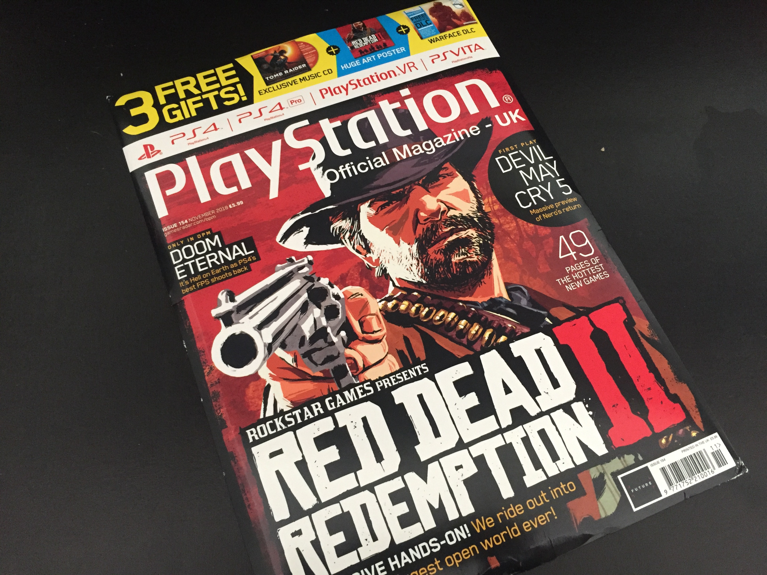 PlayStation Magazine UK Red Dead Redemption II