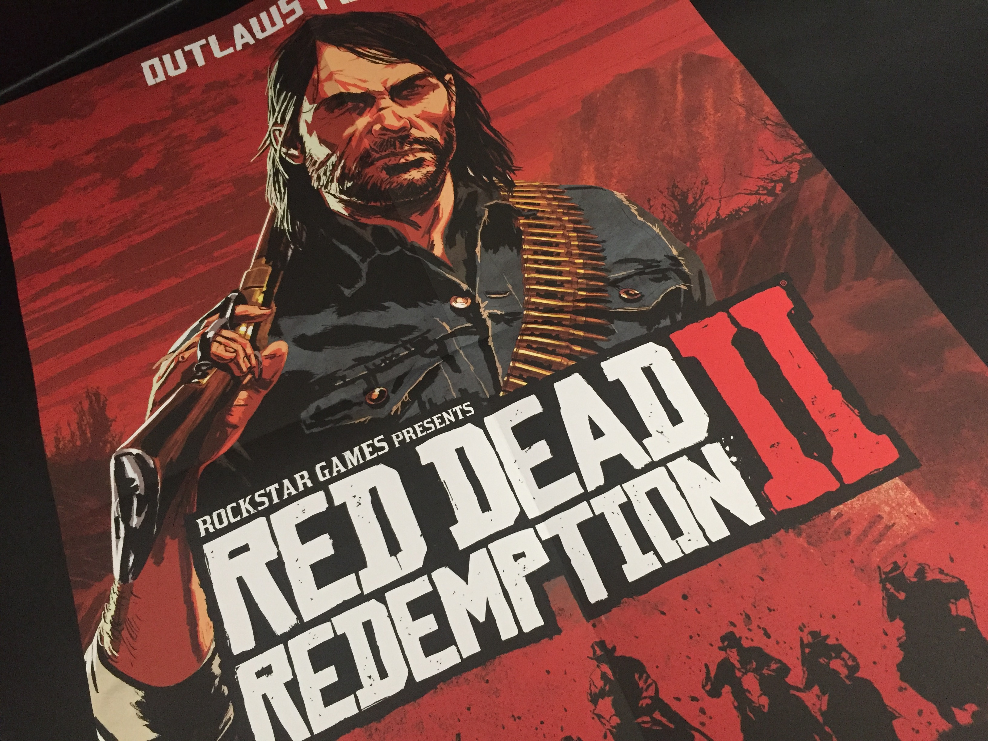 PlayStation Magazine UK Red Dead Redemption II - Poster